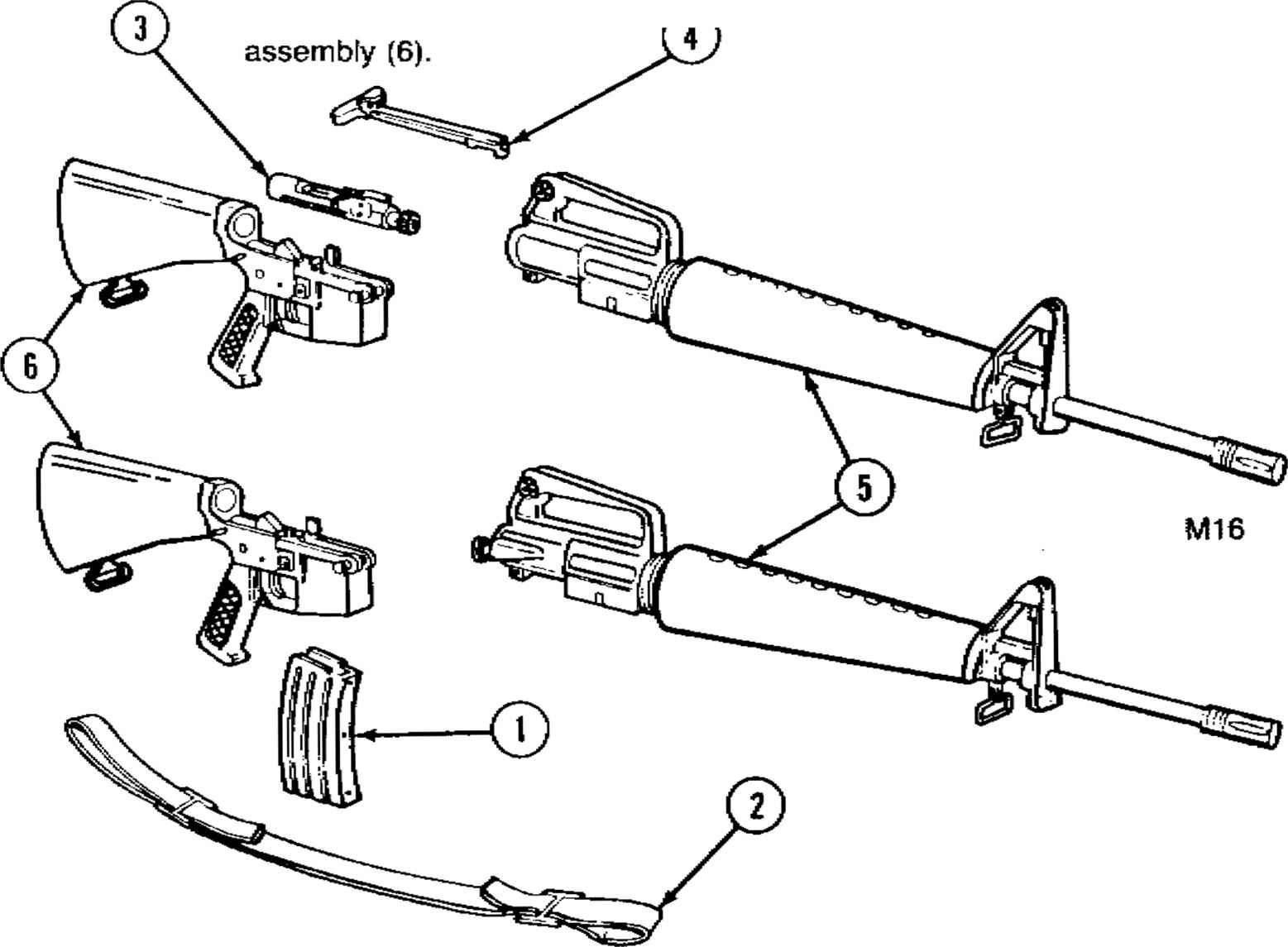 M16 Auto Sear Diagram Diagrams Wiring Diagram Images
