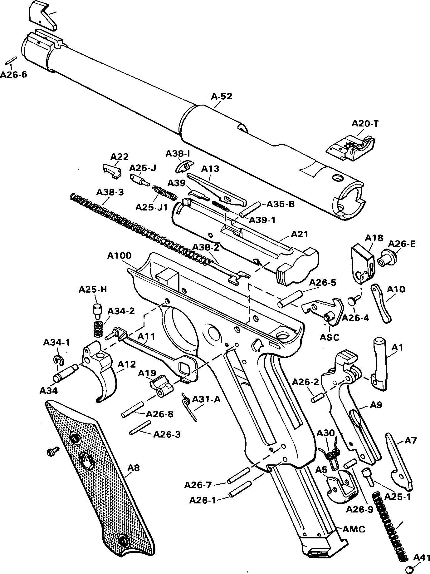 ruger pistol parts diagram automotive wiring warning to purchasers mark i target model