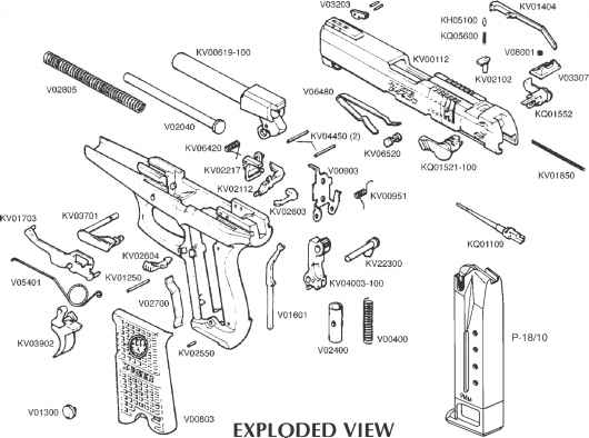 Exploded View Ruger