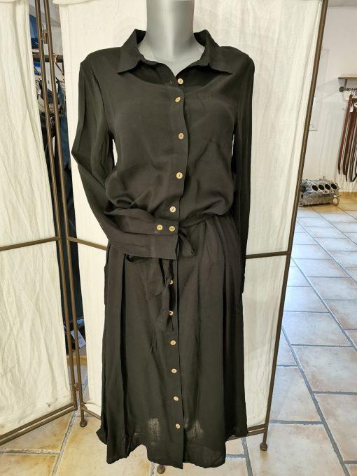 Robe chemise noire blendshe.