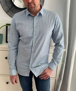 Chemise bleue pacific homme marque noexcess.
