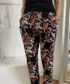 Pantalon fleuri Nova ONLY