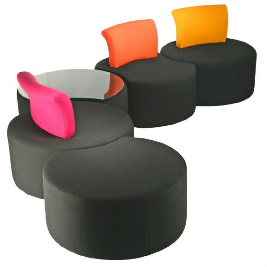 Pacman Seating  Breakout furniture  Reception chairs