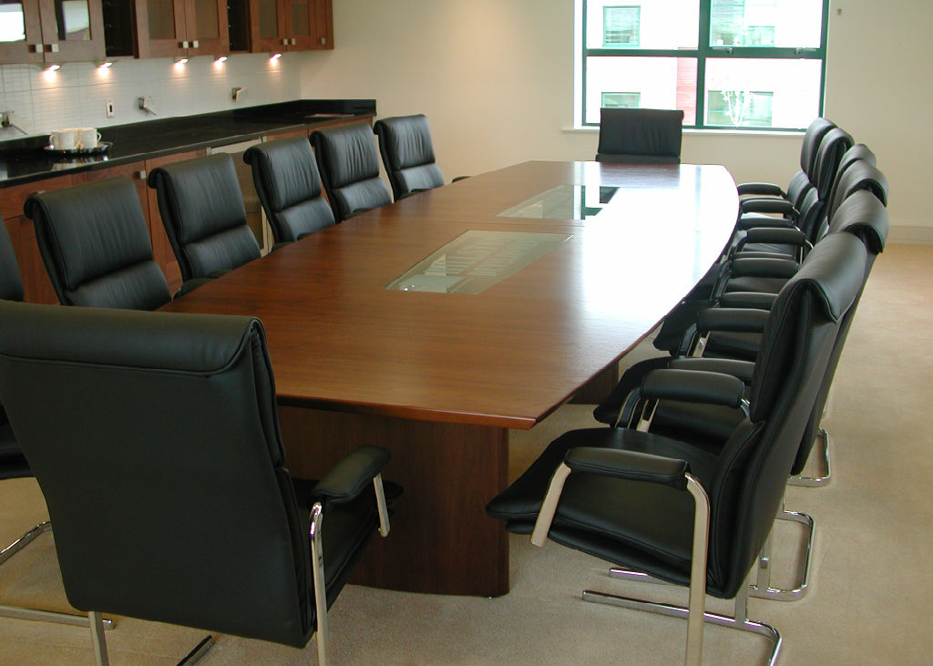 Boardroom Projects  Bevlan Office Interiors