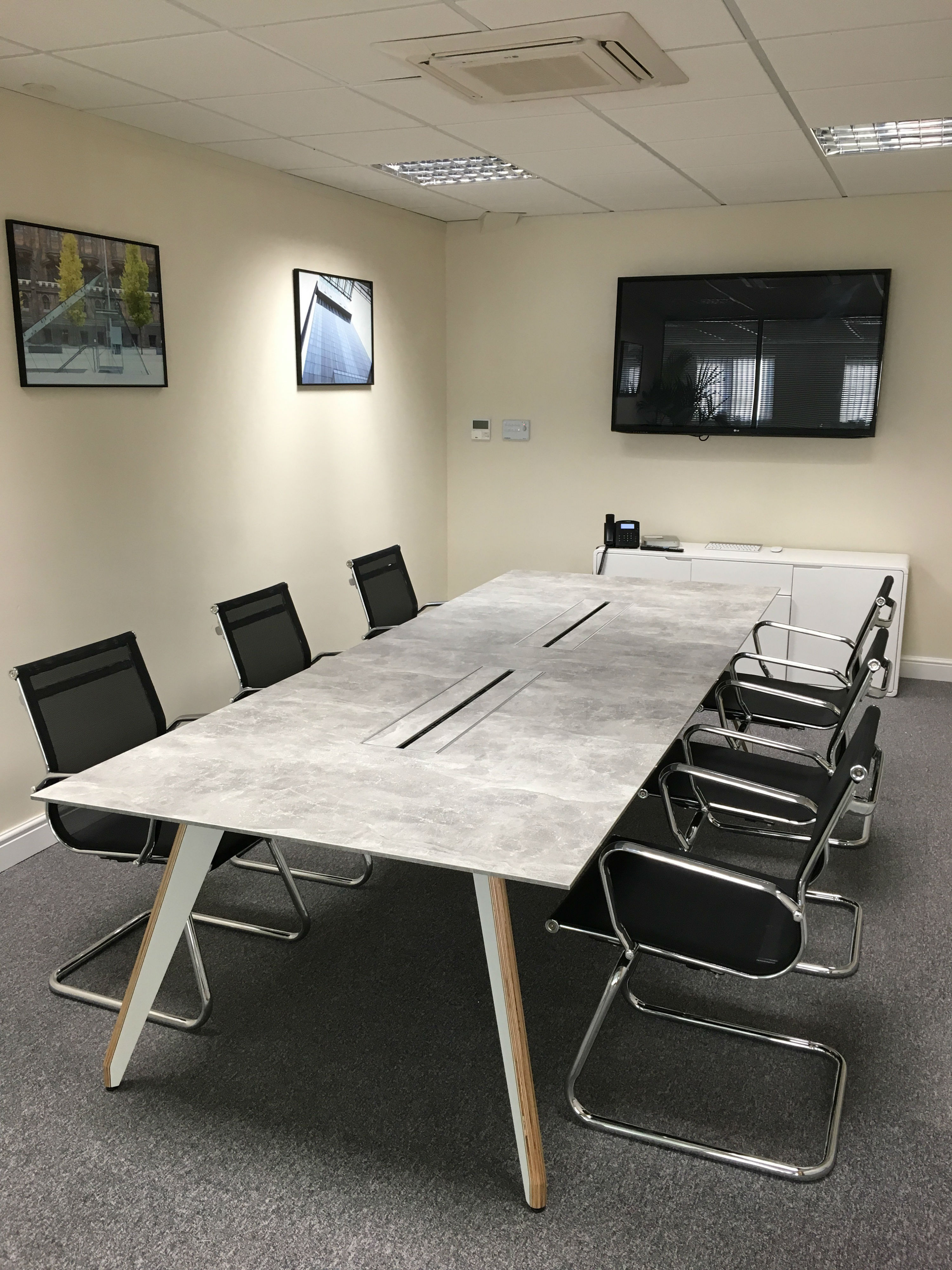 white bistro chairs patio chair webbing replacement boardroom projects | bevlan office interiors