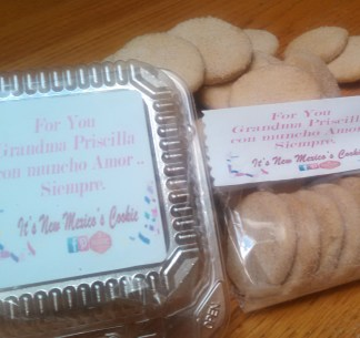 Customized Labeled Biscochitos