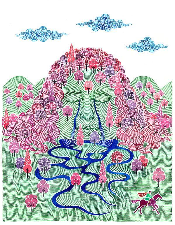 Carlos Arrojo illustration