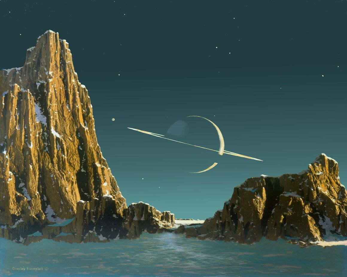 chesley_bonestell_saturn_as_seen_from_titan