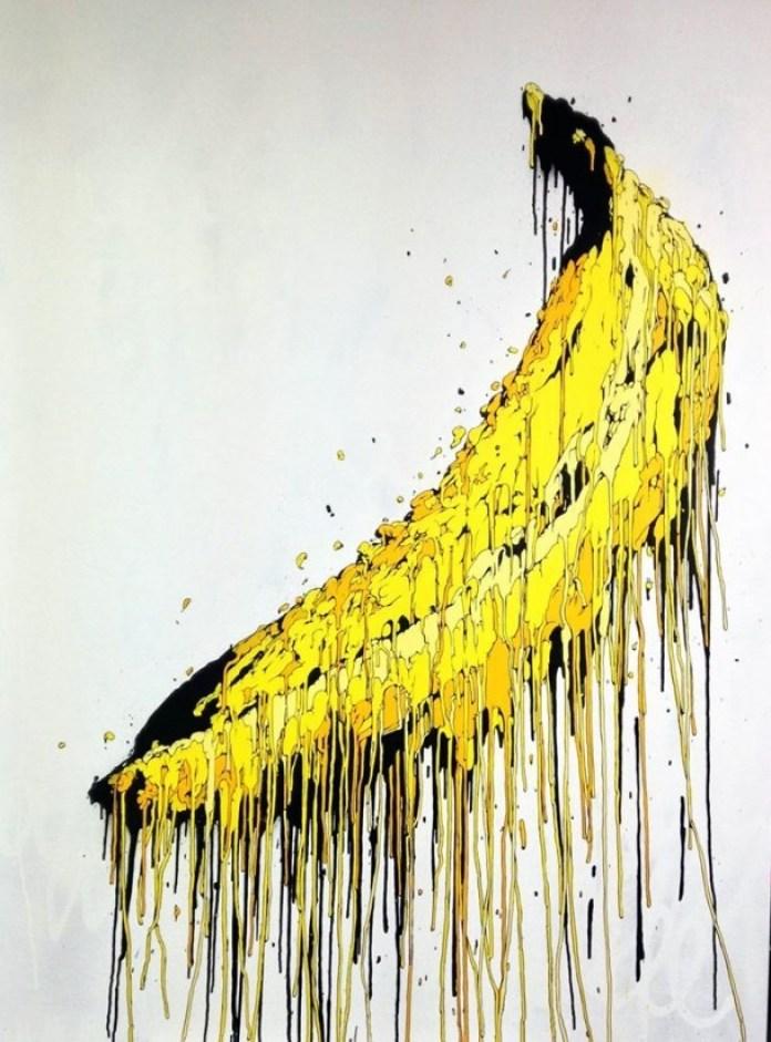 peinture de banane