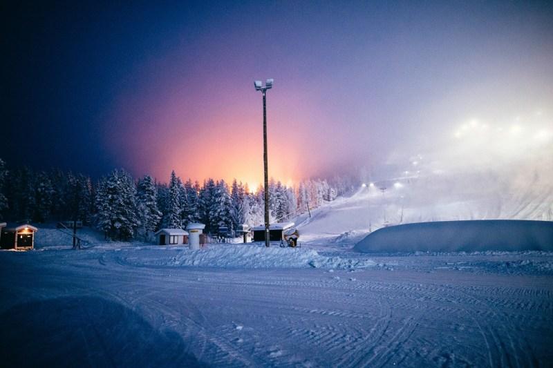 stationt de ski nordique