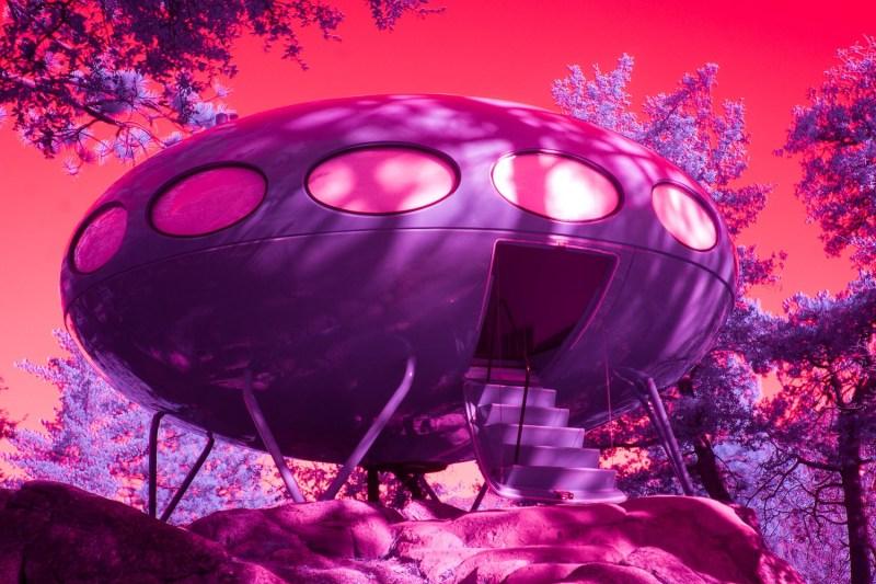 Palm Springs infrarouge