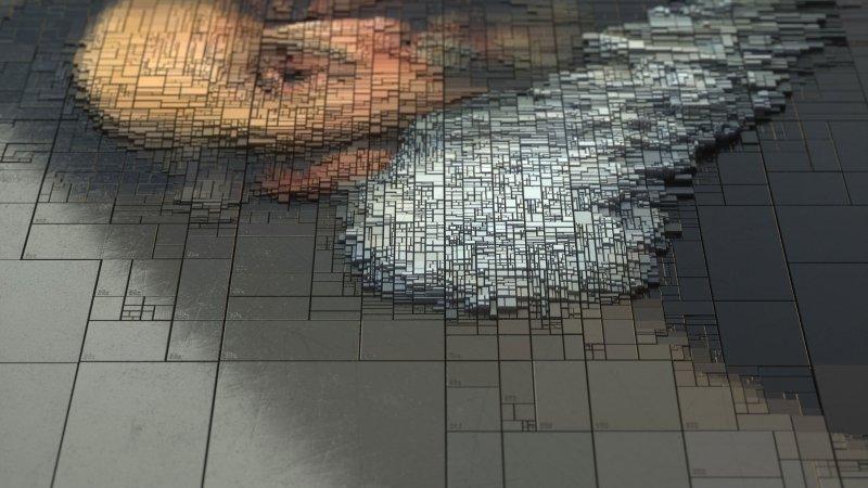 Dimitris Ladopoulos - Portrait numérique vue 2