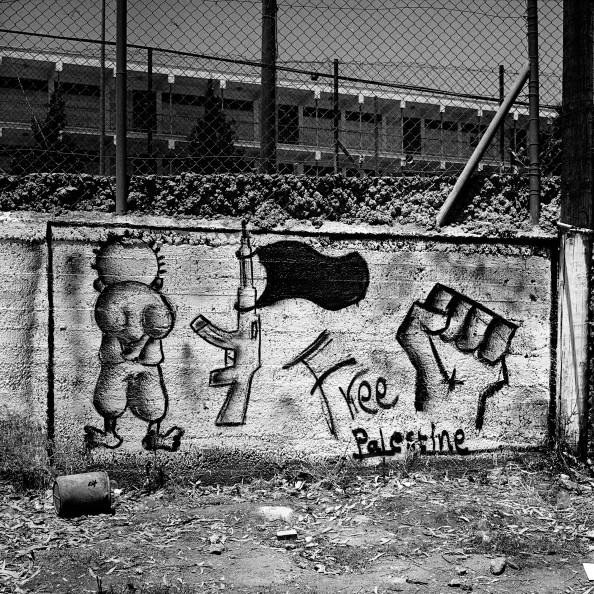 """Arroub Refugee Camp - """"Au hasard d'une rue écrasée par le soleil"""", Yann Renoult"""