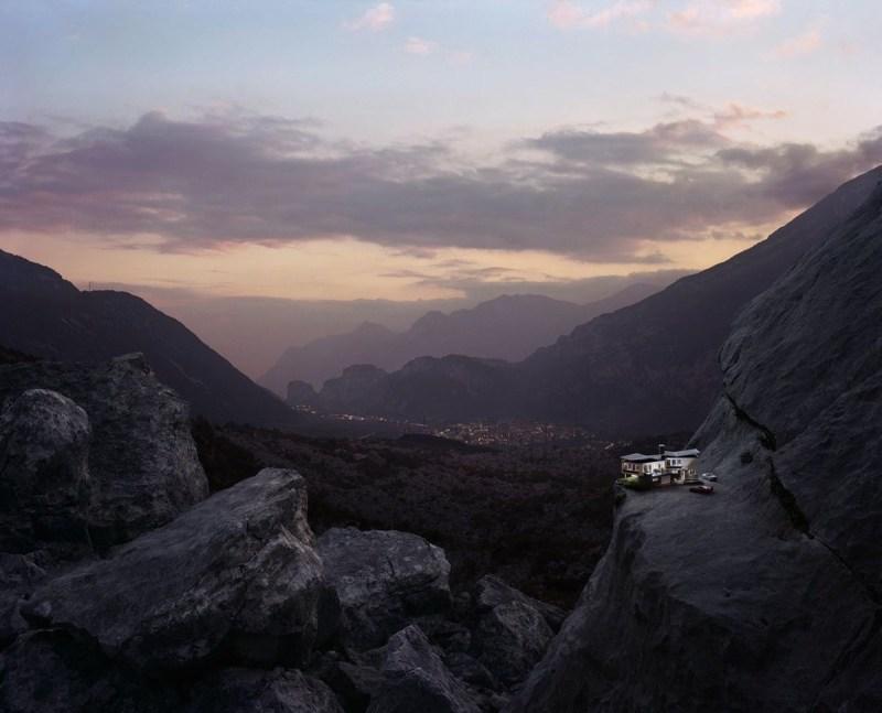 Thomas Wrede maison dans la montagne