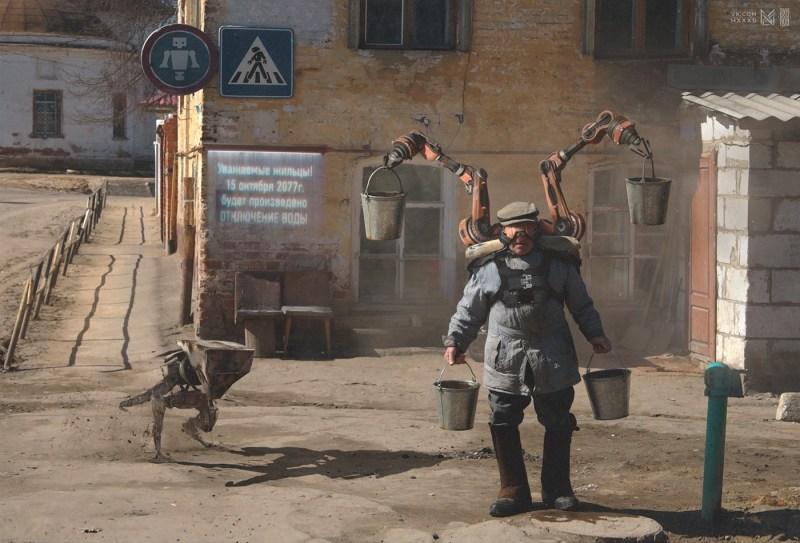 Russia 2077 - Evgeny Zubkov cyborg