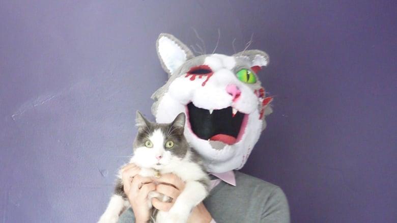 masque de chat Ian par Langohr