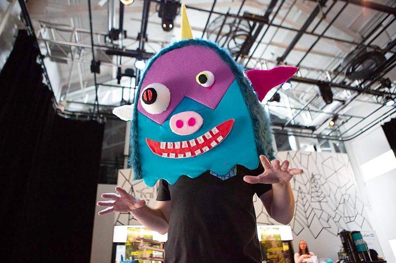 masque de monstre cool