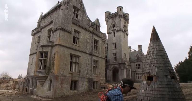 chateau urbex belgique
