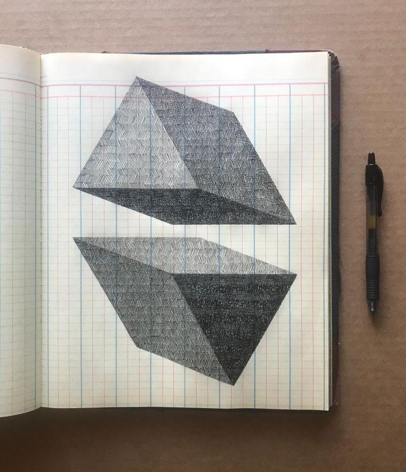 forme geometrique par Albert Chamillard