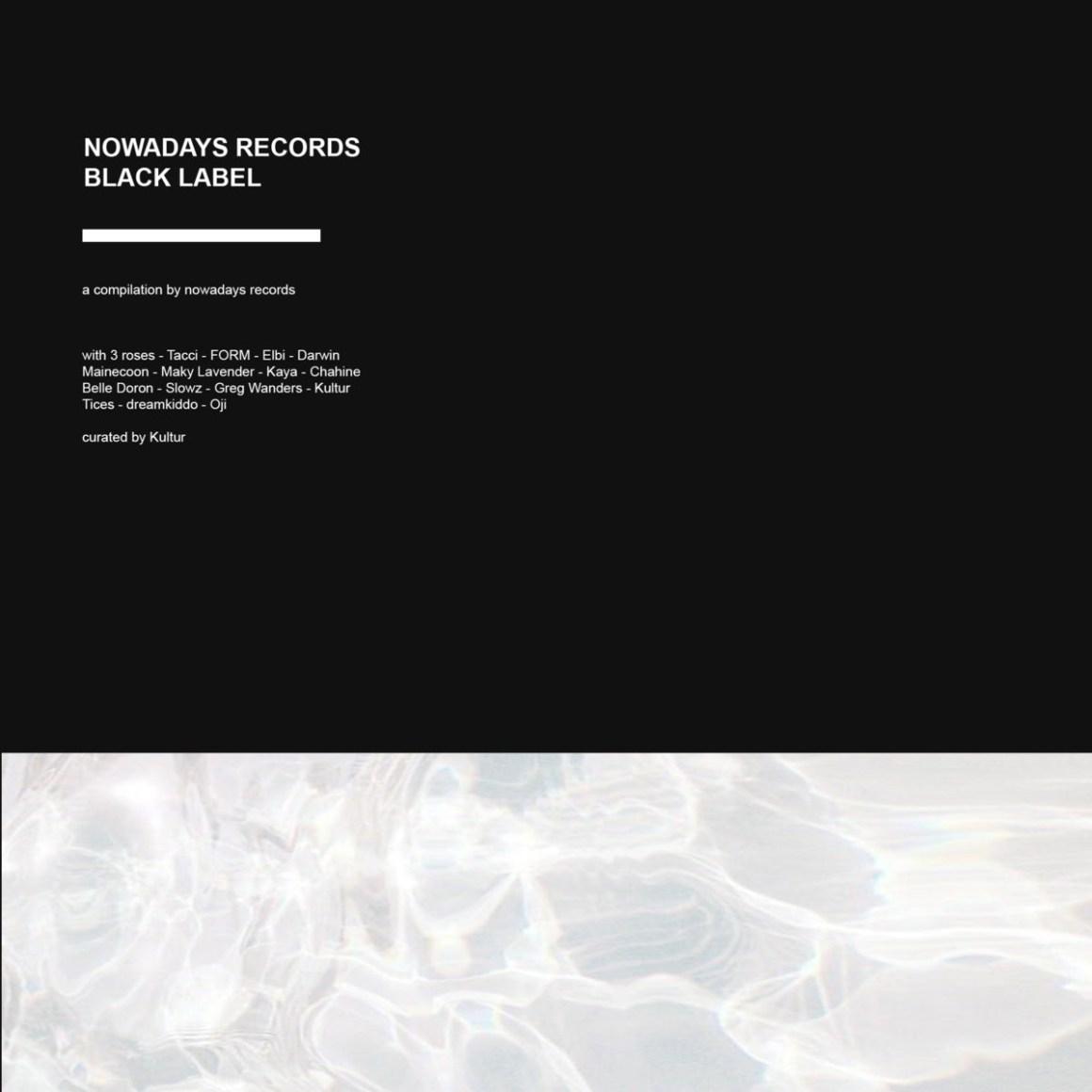 nowadays records black label