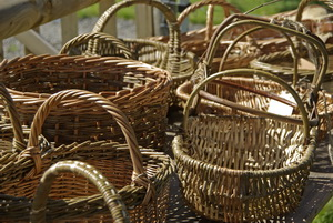 A selection of Philip's baskets