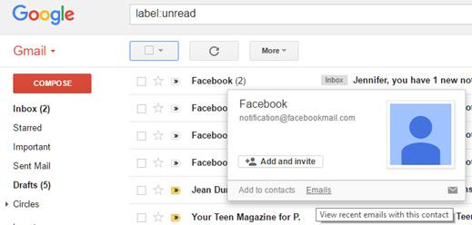 1 1 Message Unread Inbox