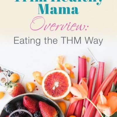 Trim Healthy Mama Overview: Eating the THM Way