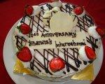 会社の記念日、ケーキ、Bewishサイクリングツアー