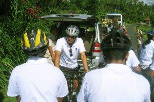 安全ブリーフィング、サイクリング、アドベンチャー