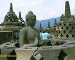 仏像、ボロブドゥール、ツアー