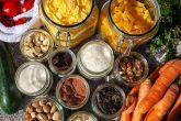 Lebensmittel in Glasbehältern