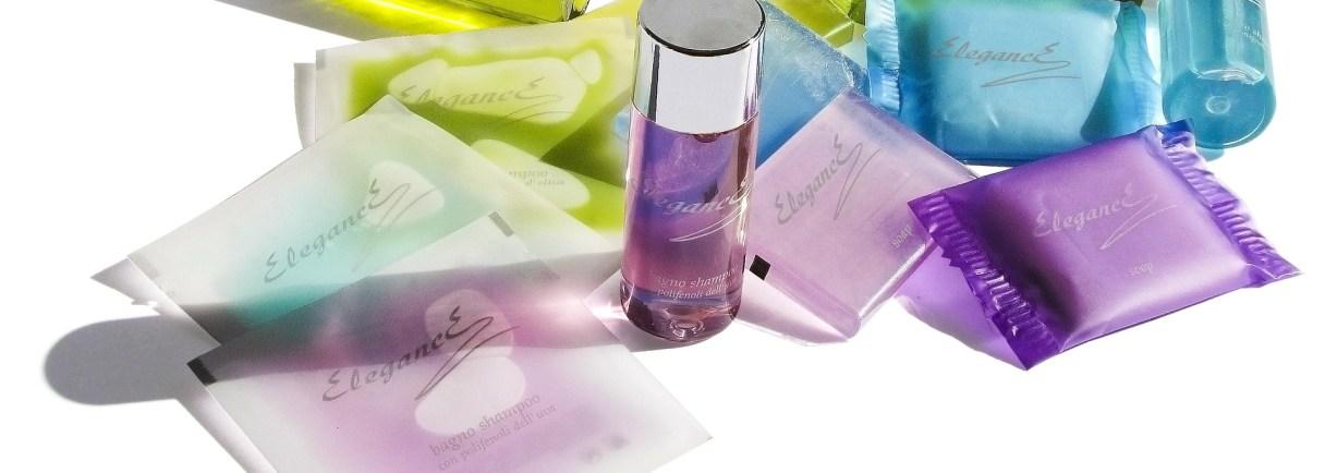 Proben von kosmetischen Produkten