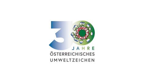 Logo von 30 Jahre Umweltzeichen