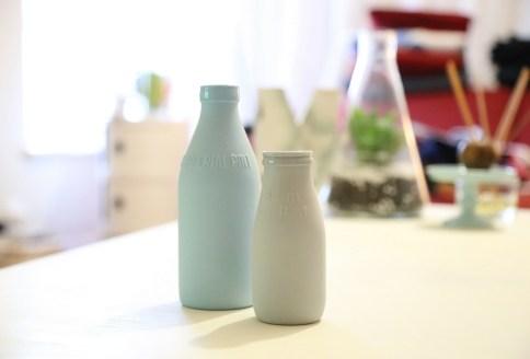 Flaschen aus Bio-Kunststoff