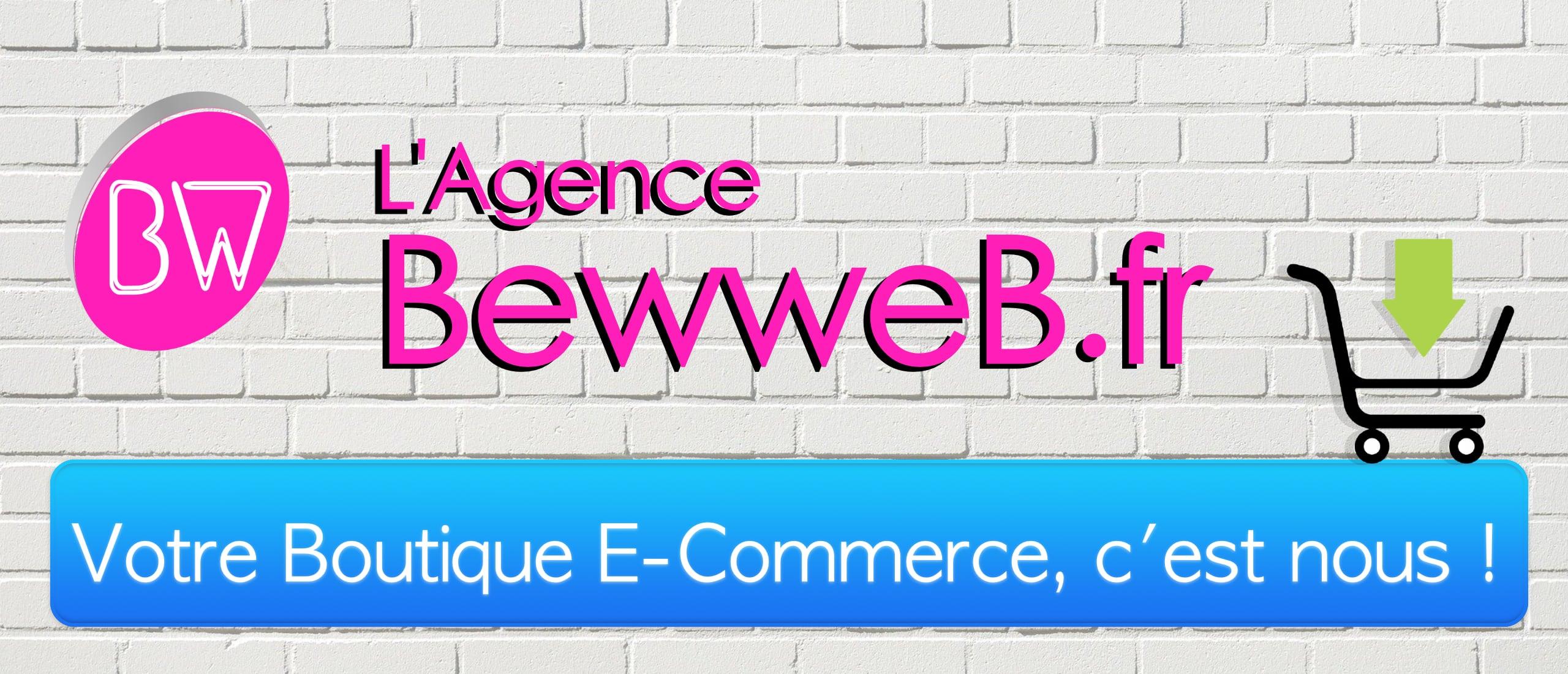 Entête site BewweB.fr E-Commerce