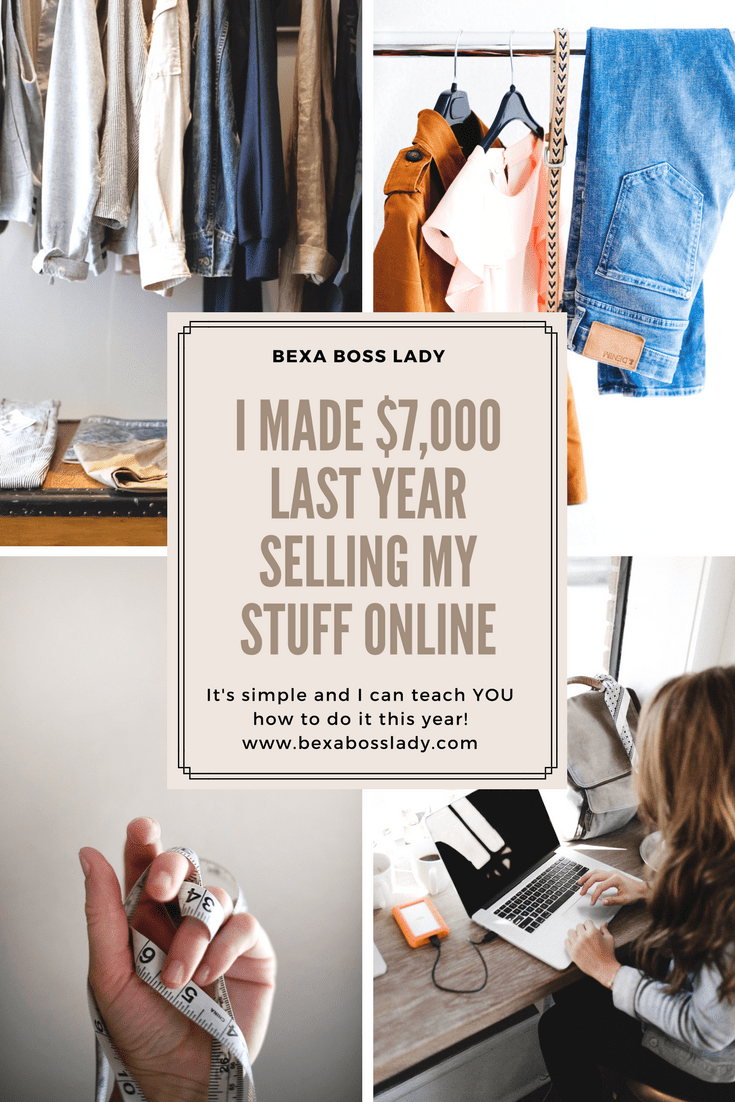 how i made over $7,000 this year selling my stuff online! bexahow i made over $7,000 this year selling my stuff online!