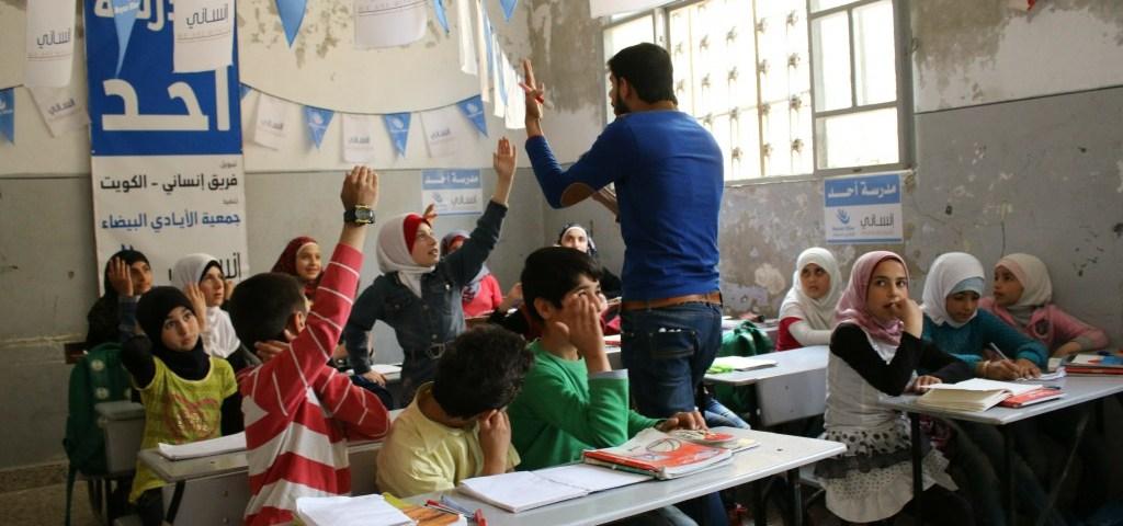مدرسة احد في ريف حلب