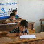 تقديم الإمتحانات في مدرسة إنساني