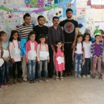 معرض الأعمال الفنية بمدرسة ام الشهداء