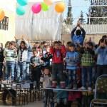 حفل للأطفال في سوريا