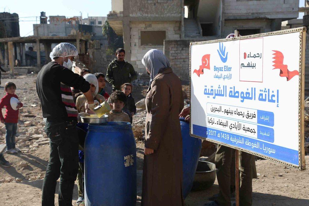 مشاريع للأطفال في الغوطة الشرقية