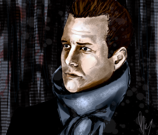 Gabriel Macht as Harvey (Suits) Specter