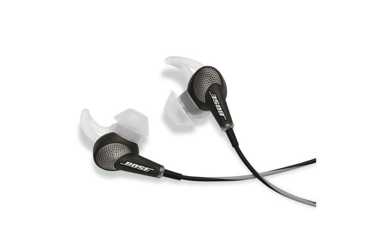 Ecouteurs à réduction de bruit Bose QuietComfort 20 - Test et Avis
