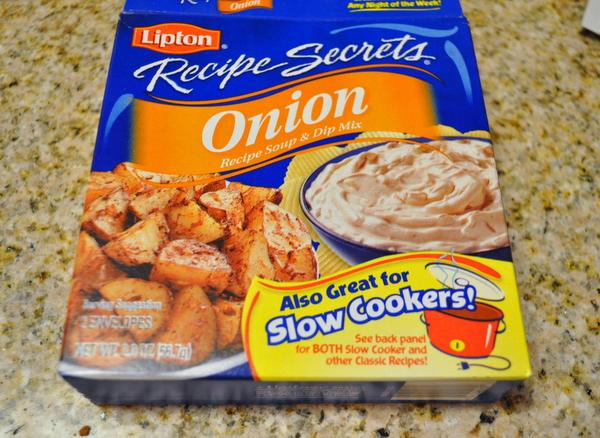 Lipton's onion soup mix