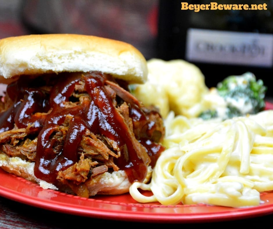 This slow cooker root beer beef bbq recipe is the perfect combination of sweet and heat with a hint of smoke to leave yoursummer BBQ cravings satisfied.