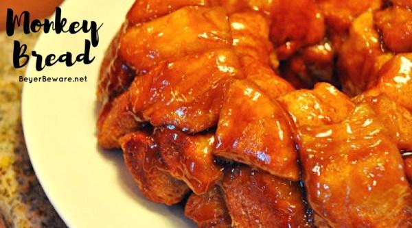 Pull-Apart Caramel Monkey Bread is a sweet and gooey breakfast bread is an addicting simple breakfast recipe.