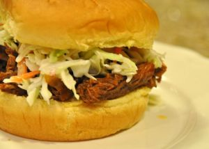Hunk of Meat Monday: Crock Pot BBQ Beef Sandwiches