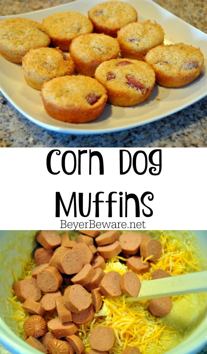 Craving corn dogs but don't want to go through the process? This corn dog muffins recipe is an easy substitute for the fair favorite treat.