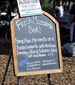 Fresh Mozzarella Bar