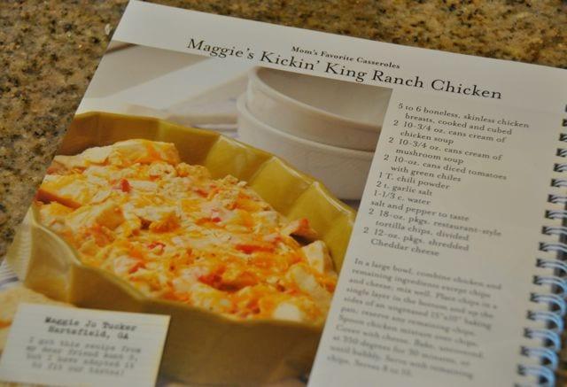 Maggie's Kickin' King Ranch Chicken Casserole